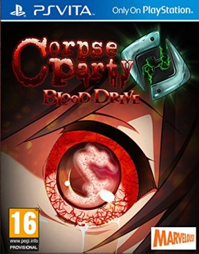 Corpse Party: Blood Drive PS Vita Cover