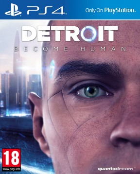 Detroit Become Human PS4 Cover