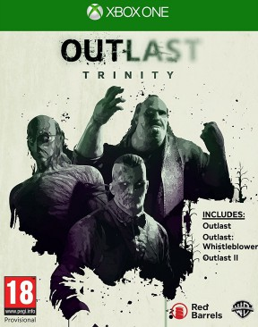 Outlast 2 Xbox One Cover