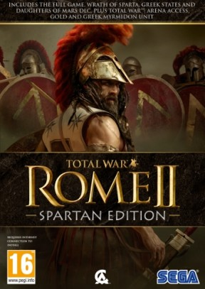 Total War: ROME II - Spartan Edition PC Cover