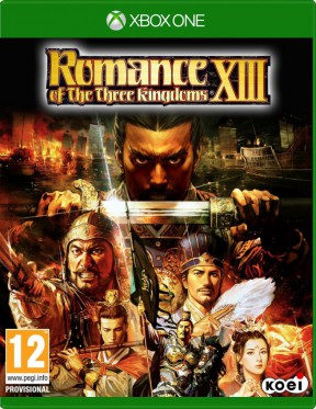 Romance of the Three Kingdoms XIII Xbox One Cover