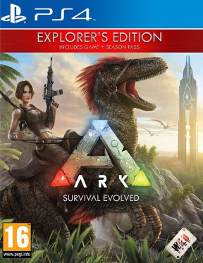 ARK: Survival Evolved PS4 Cover