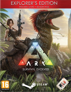 ARK: Survival Evolved PC Cover