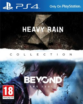 The Heavy Rain and Beyond: Two Souls Collection PS4 Cover