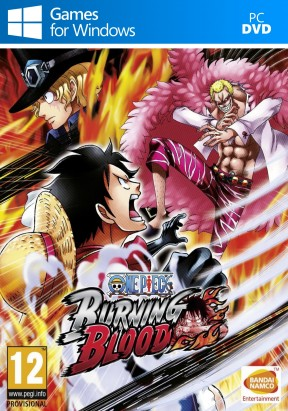 One Piece: Burning Blood PC Cover
