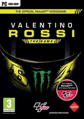 Valentino Rossi: The Game PC Cover