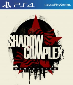 Shadow Complex Remastered PS4 Cover