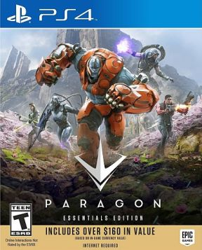 Paragon PS4 Cover