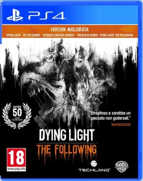 Dying Light: The Following - Enhanced Edition PS4 Cover