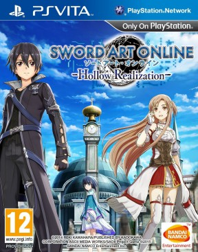 Sword Art Online: Hollow Realization PS Vita Cover