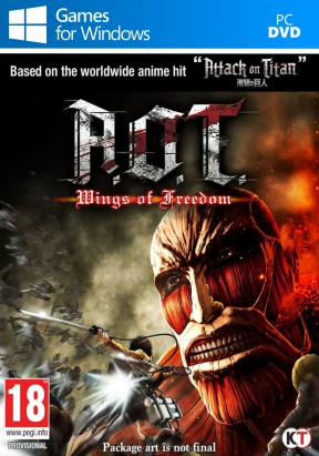 A.O.T. Wings of Freedom PC Cover