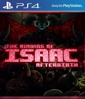 The Binding of Isaac: Afterbirth PS4 Cover