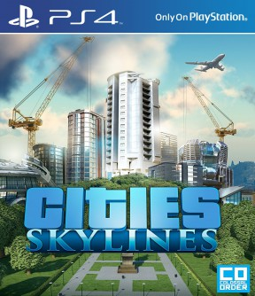 Cities: Skylines PS4 Cover