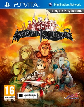 Grand Kingdom PS Vita Cover