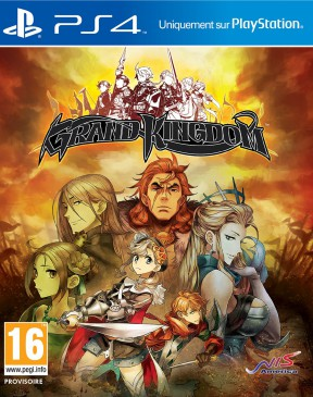 Grand Kingdom PS4 Cover