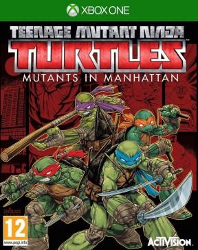 Teenage Mutant Ninja Turtles: Mutanti a Manhattan Xbox One Cover