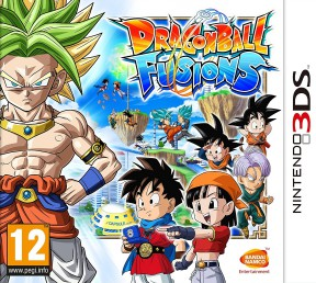 Dragon Ball Fusions 3DS Cover