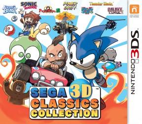 SEGA 3D Classics Collection 3DS Cover