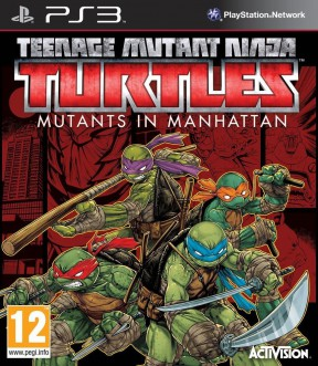 Teenage Mutant Ninja Turtles: Mutanti a Manhattan PS3 Cover