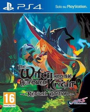 The Witch and The Hundred Knight - Revival Edition PS4 Cover