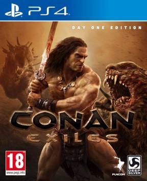 Conan Exiles PS4 Cover
