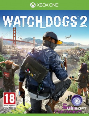 Watch Dogs 2 Xbox One Cover