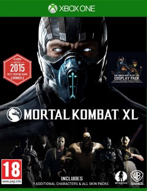 Mortal Kombat XL Xbox One Cover