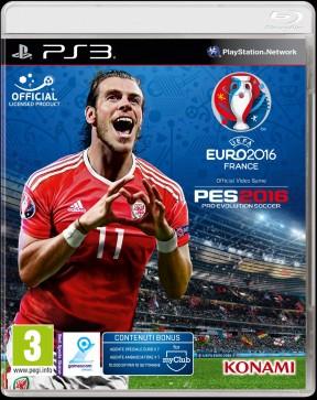 Pro Evolution Soccer 2016 - UEFA Euro 2016 PS3 Cover