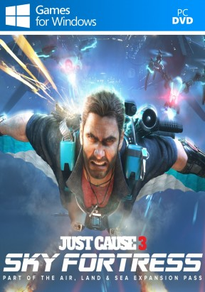 Just Cause 3 - Sky Fortress DLC PC Cover