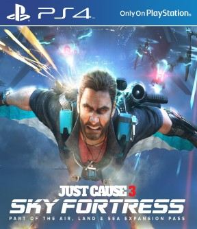 Just Cause 3 - Sky Fortress DLC PS4 Cover