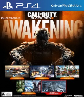 Call of Duty: Black Ops III - Awakening PS4 Cover