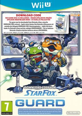 Star Fox Guard Wii U Cover