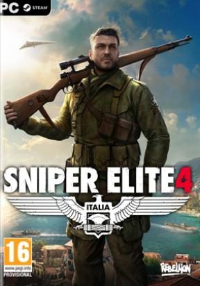Sniper Elite 4 PC Cover
