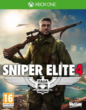 Sniper Elite 4 Xbox One Cover