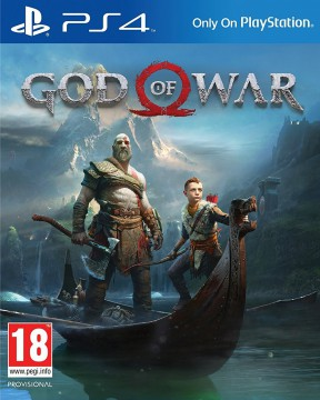 God Of War (PS4) PS4 Cover