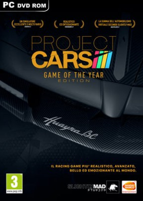 Project Cars: Game of the Year Edition PC Cover