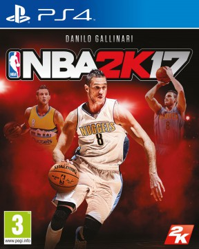 NBA 2K17 PS4 Cover