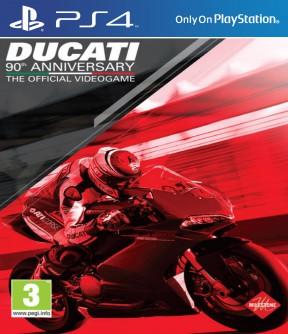 Ducati - 90th Anniversary PS4 Cover