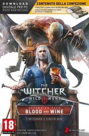 The Witcher 3: Blood & Wine PC Cover