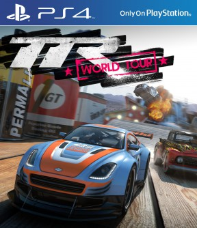 Table Top Racing: World Tour PS4 Cover