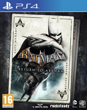 Batman: Return to Arkham PS4 Cover