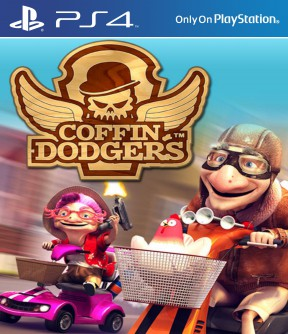 Coffin Dodgers PS4 Cover