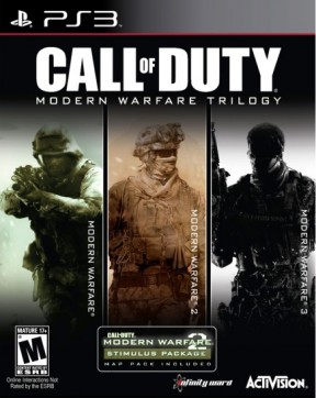Call of Duty: Modern Warfare Trilogy PS3 Cover