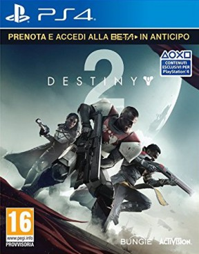 Destiny 2 PS4 Cover