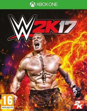 WWE 2K17 Xbox One Cover