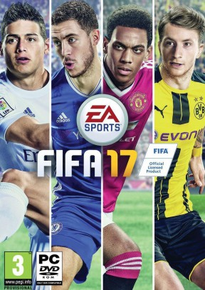 FIFA 17 PC Cover