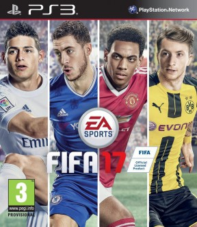 FIFA 17 PS3 Cover