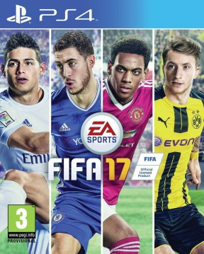 FIFA 17 PS4 Cover