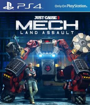 Just Cause 3 - Mech Land Assault DLC PS4 Cover