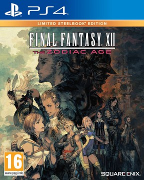 Final Fantasy XII: The Zodiac Age PS4 Cover
